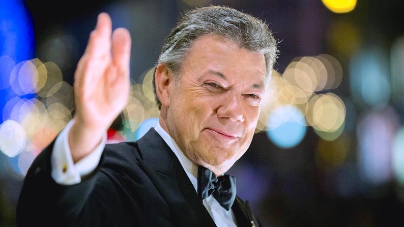 Juan Manuel Santos Kolumbien Nobelpreis