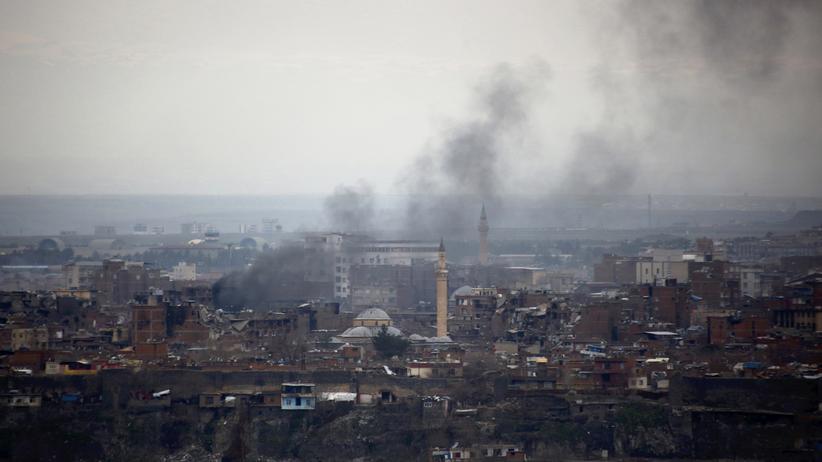 Diyarbakır war Schauplatz heftiger Kämpfe zwischen PKK und türkischen Sicherheitskräften.