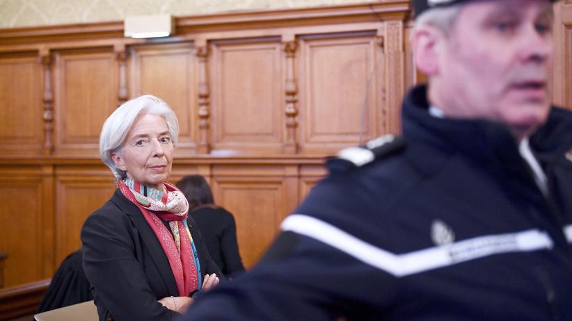 IWF-Chefin: Gericht spricht Lagarde der Fahrlässigkeit schuldig