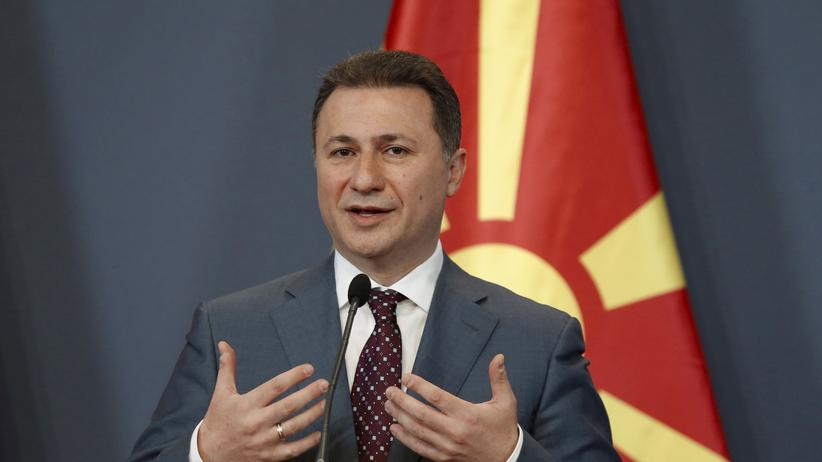 Parlamentswahlen in Mazedonien: Nikola Gruevski