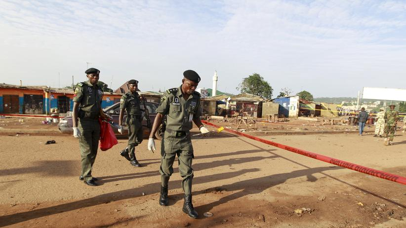 Attentat: Mindestens 30 Tote bei Selbstmordanschlägen in Nigeria
