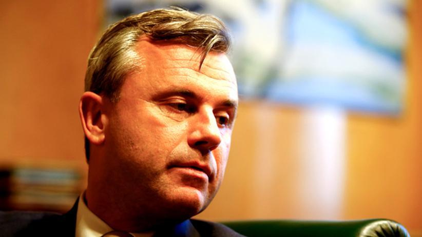 Österreich-Wahl: Norbert Hofer , Kandidat der FPÖ