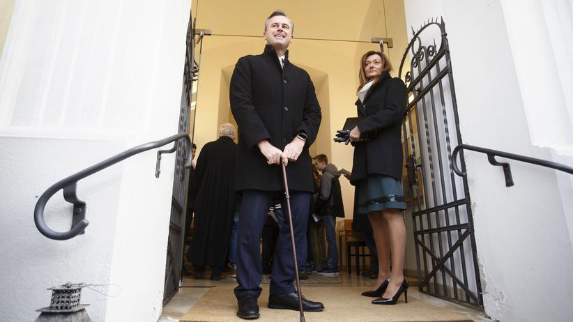 Österreich: Nobert Hofer und seine Frau
