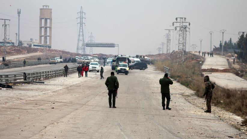 Ost-Aleppo: Noch immer kein Entkommen aus der Hölle