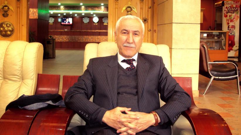 Richter Rizgar Amin in Suleimanija