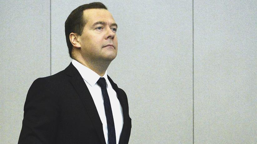 Sanktionen gegen Russland: Ministerpräsident Dmitri Medwedew