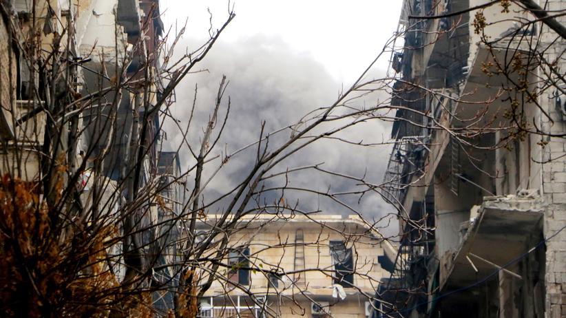 Syrien: Aleppo am 13. Dezember 2016