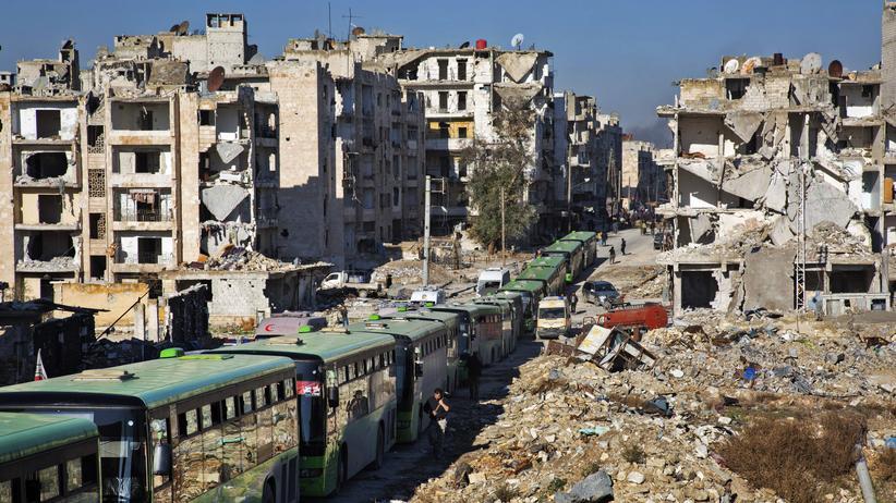 Aleppo: Russland erklärt Evakuierung für beendet