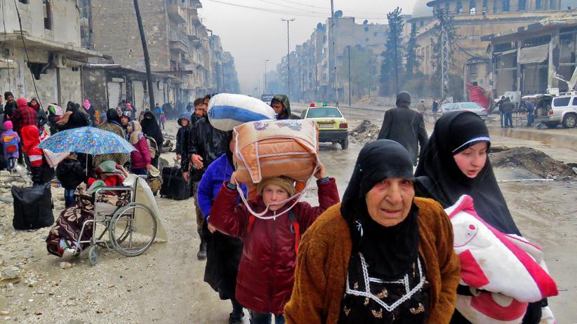 Aleppo: Abzug von Zivilisten und Rebellen verzögert sich