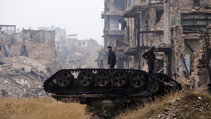 Syrien: Syrische Armee bringt Aleppo unter ihre Kontrolle