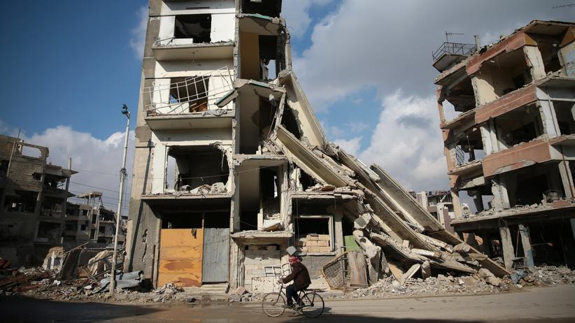 Syrien: Syrische Rebellen drohen, die Waffenruhe aufzukündigen.
