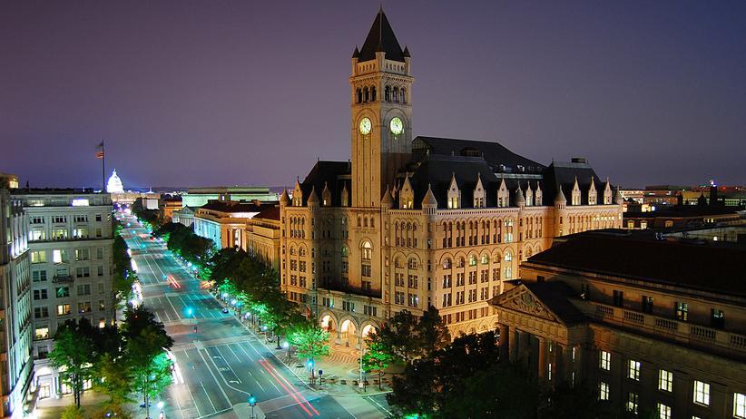 US-Präsident: Das Old Post Office in Washington D.C.