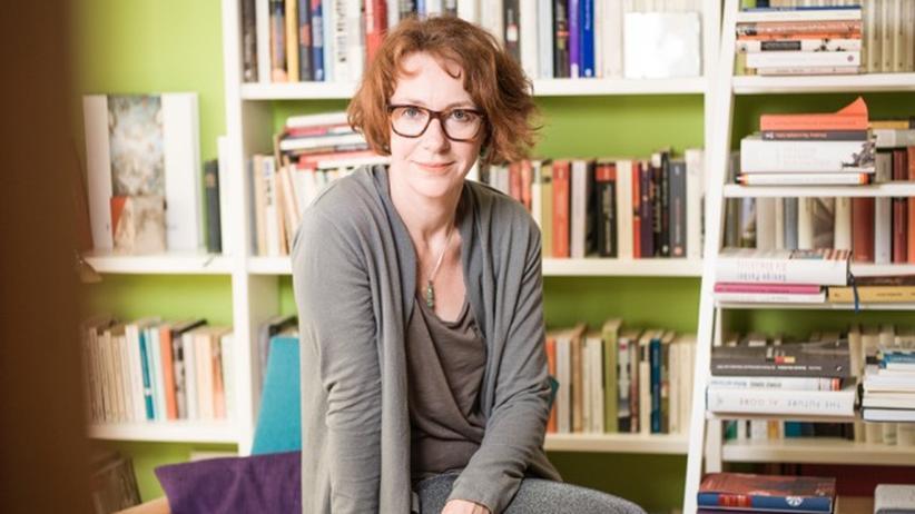 EU: Ulrike Guérot in ihrer Wohnung in Berlin