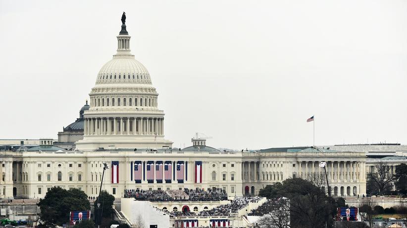 Vereidigung von Donald Trump: Das Kapitol in Washington
