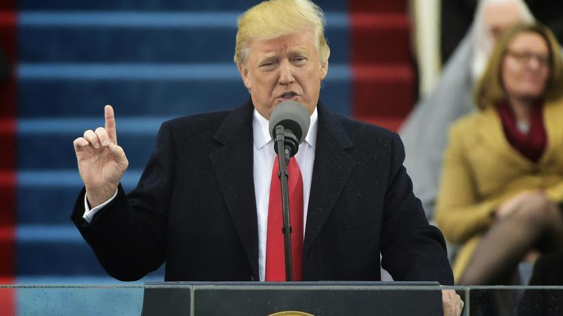 Rede zum Amtsantritt : Trumps Rede im Wortlaut