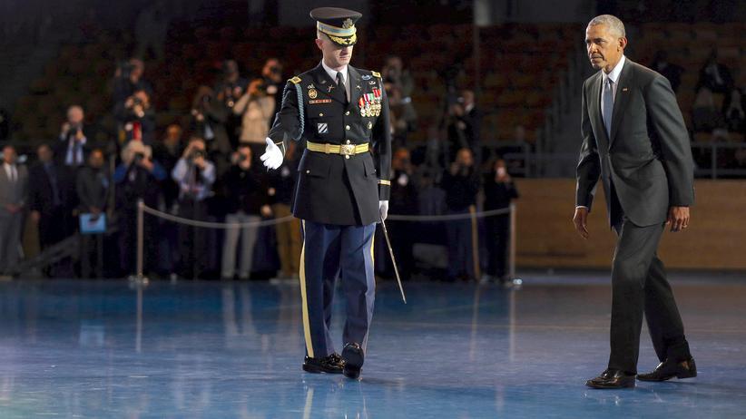 Barack Obama: Der scheidende US-Präsident Barack Obama ist über die mutmaßlich russischen Hackerangriffe besorgt.