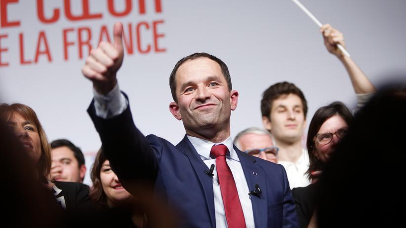 Frankreich: Benoît Hamon im Vorwahlkampf der Sozialisten