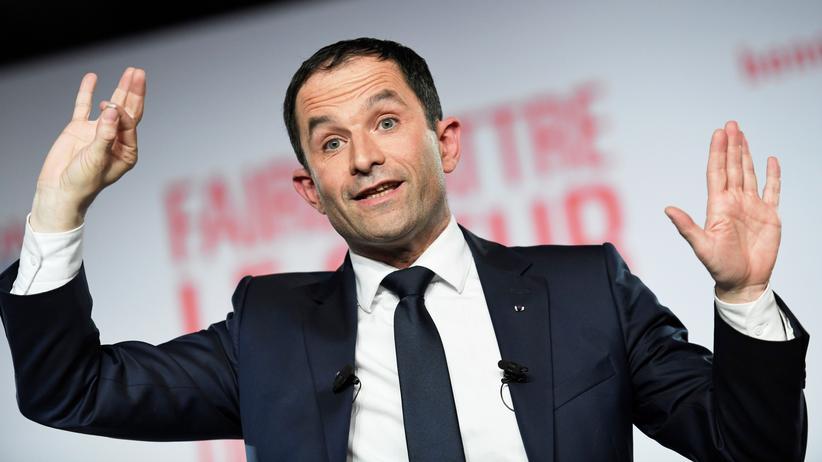 Präsidentschaftswahlen in Frankreich: Benoît Hamon ist Kandidat der Sozialisten bei der Wahl zum französischen Staatspräsidenten im April 2017.