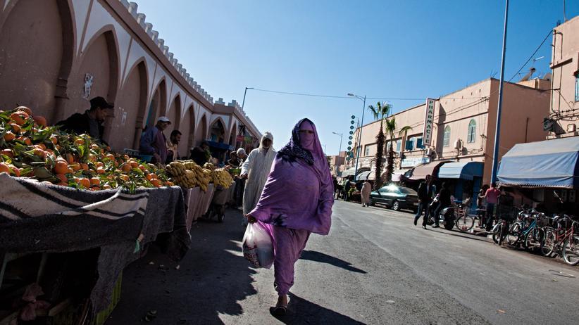 Marokko: Die marokkanische Regierung begründet ihr Verbot mit Sicherheitserwägungen.