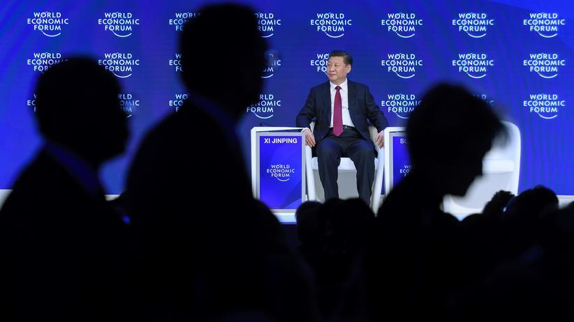 Davos: Chinas Präsident Xi Jinping in Davos