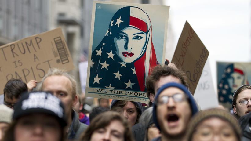 Proteste in Washington: Mehr als ein Steinwurf von der Revolution entfernt