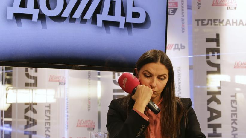 Doschd: Die Mitgründerin und Geschäftsführerin von Doschd, Natalja Sindejewa