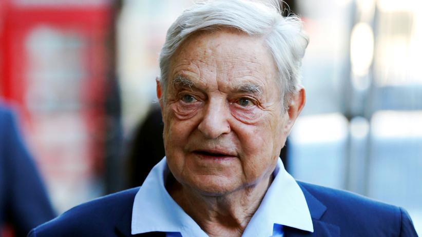 George Soros in Paris