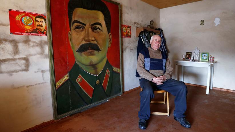 Georgien, Stalin, Fans, Stalinisten