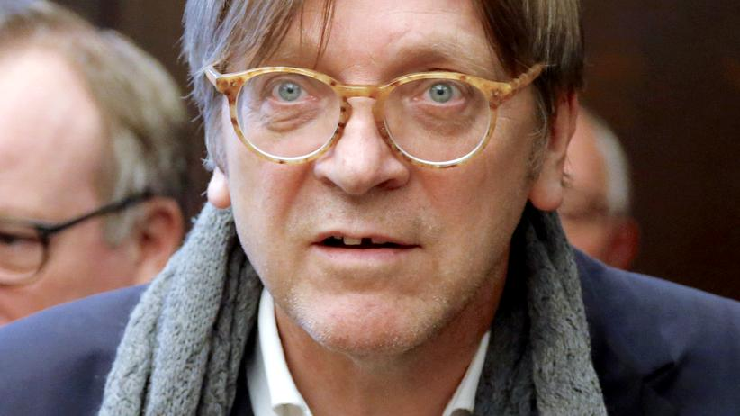 Guy Verhofstadt Wahl Präsident Europaparlaments