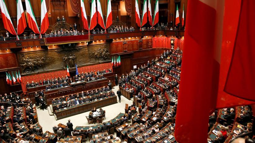 Wahlrechtsreform: Das Parlament in Rom