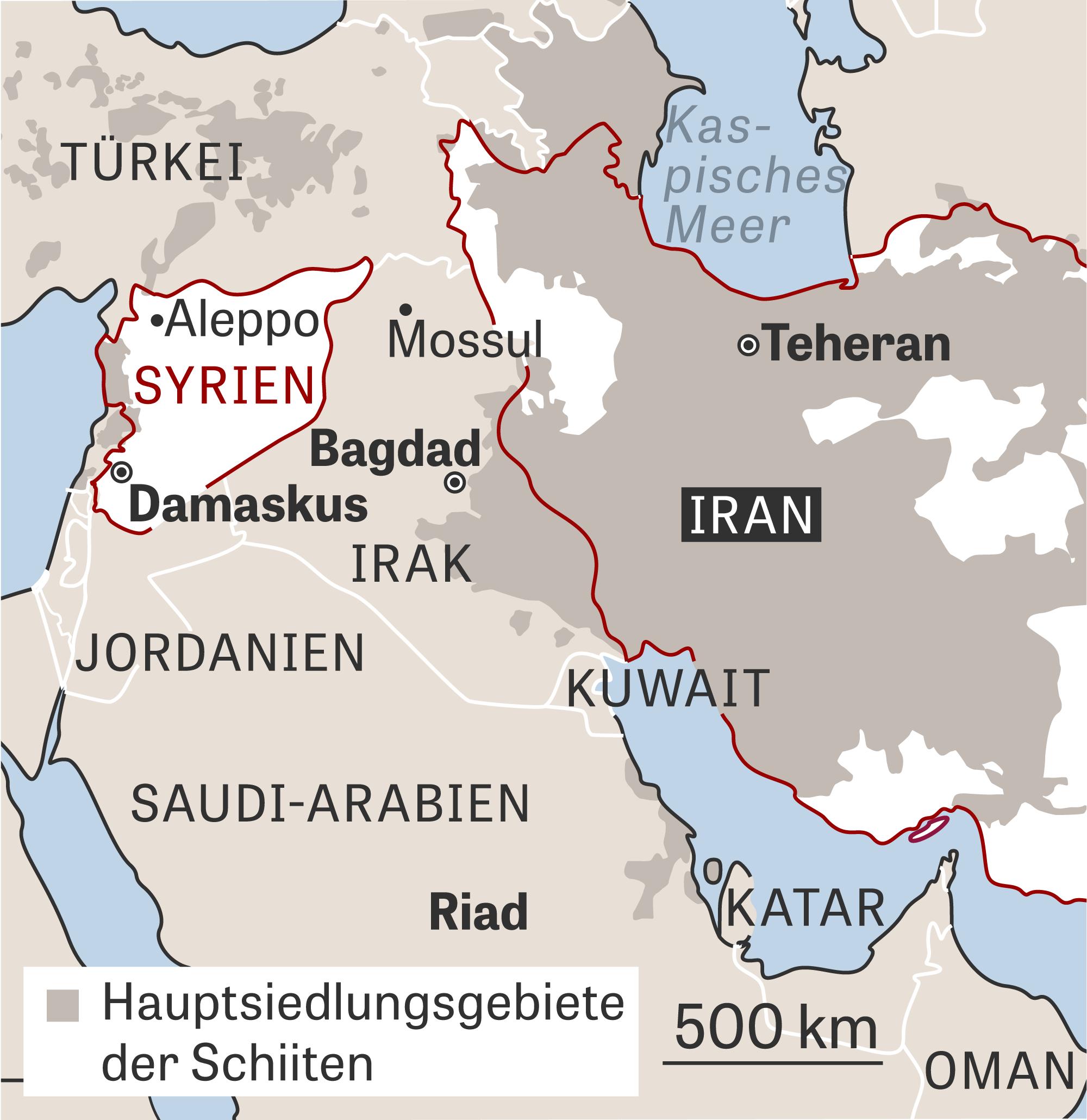 Syrien Irak Karte.Mittlerer Osten Und Der Sieger Heißt Iran Zeit Online