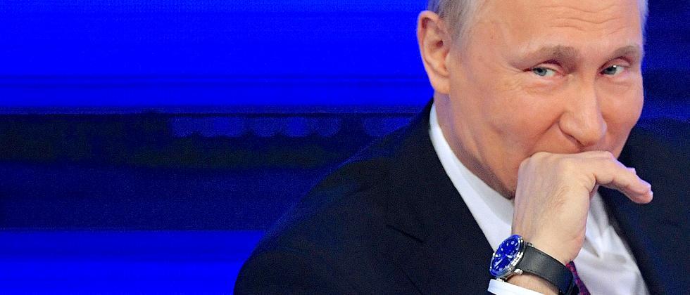 Putin Geheimdienstbericht