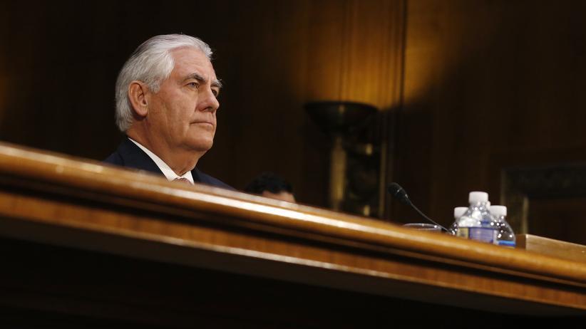 """Rex Tillerson: """"Russland hat keinen legalen Anspruch auf die Krim"""""""