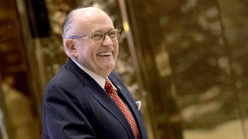 Rudy Giuliani: Trump macht Ex-Bürgermeister zum Cyber-Sicherheitsberater