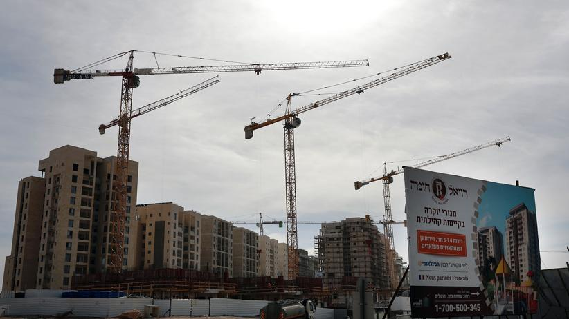 Israel: Neue Wohnungen werden in Ost-Jerusalem gebaut.