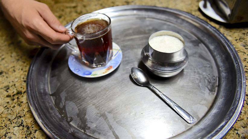 Teestube in Kairo