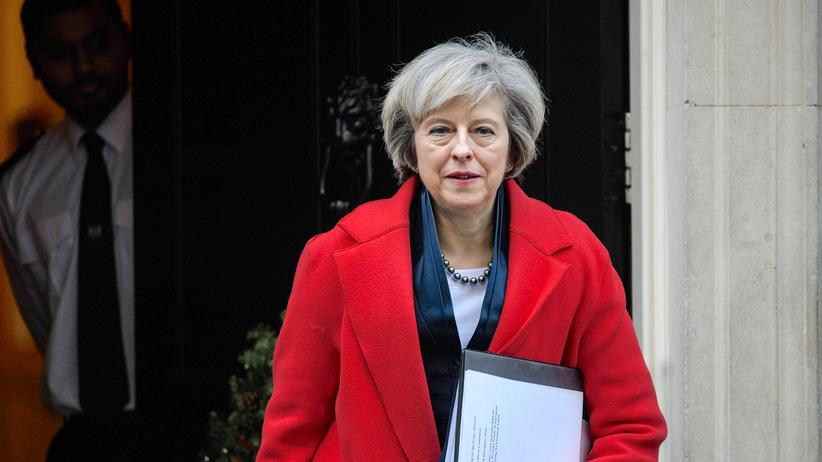 Theresa May: Die britische Premierministerin Theresa May