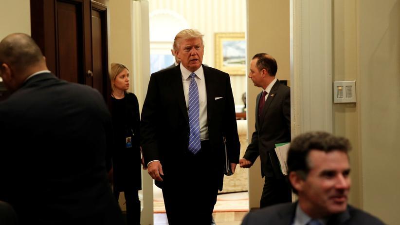 US-Präsident: Der neue US Präsident Donald Trump