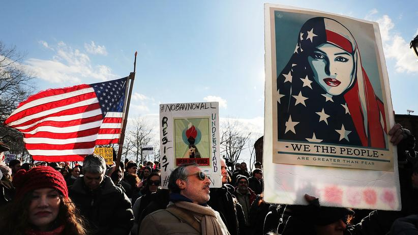 USA: Proteste gegen Trumps Verordnung am 29. Januar in New York