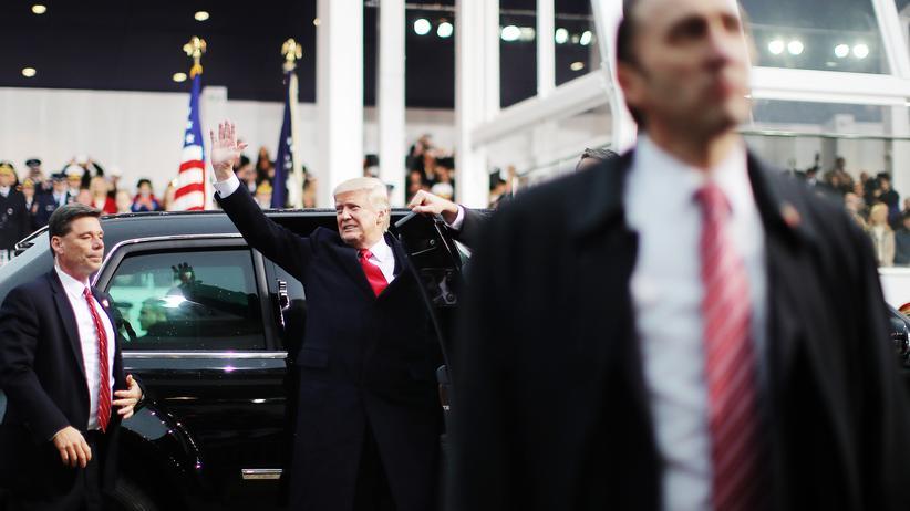 Amtseinführung: US-Präsident Donald Trump nach seiner Amtseinführung in Washington D.C.
