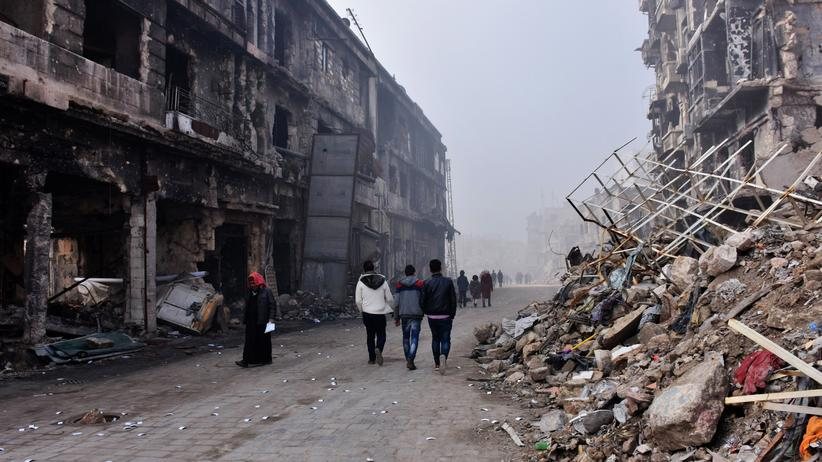 Krieg: Zerstörtes Haus in der syrischen Stadt Al-Bab