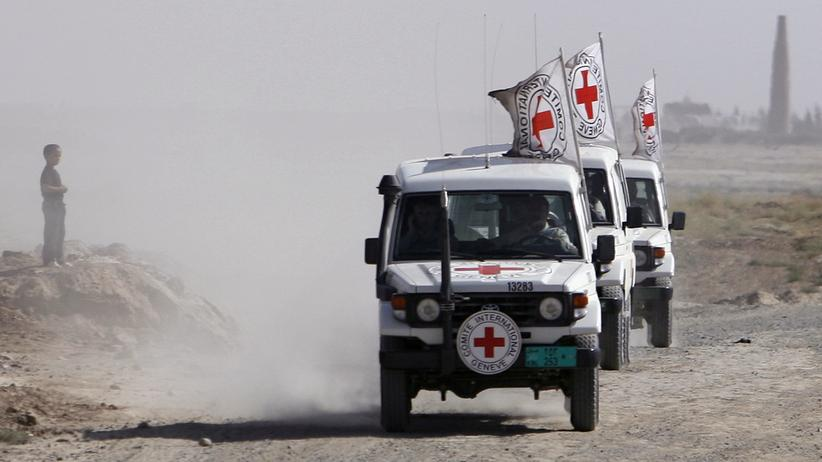 Afghanistan: Autos des Roten Kreuzes (Archiv)