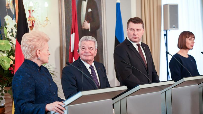 Baltikum: Wo sie Gauck schon jetzt vermissen