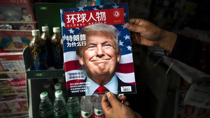 Donald Trump: China hofft auf gute Beziehungen zu den USA
