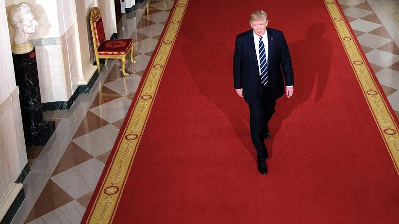 USA: US-Präsident Donald Trump auf dem Weg zur Nominierung von Neil M. Gorsuch als Richter des Obersten Gerichtshofs