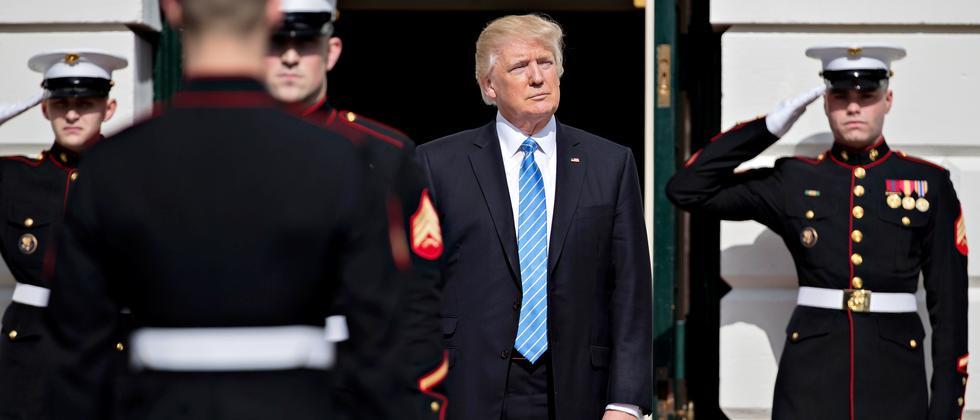 Donald Trump Thema Header