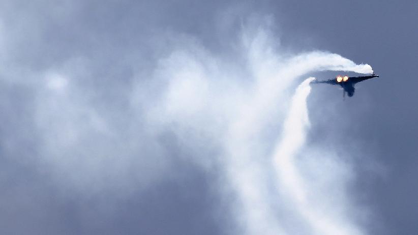 Airbus: Ein Eurofighter der österreichischen Luftwaffe