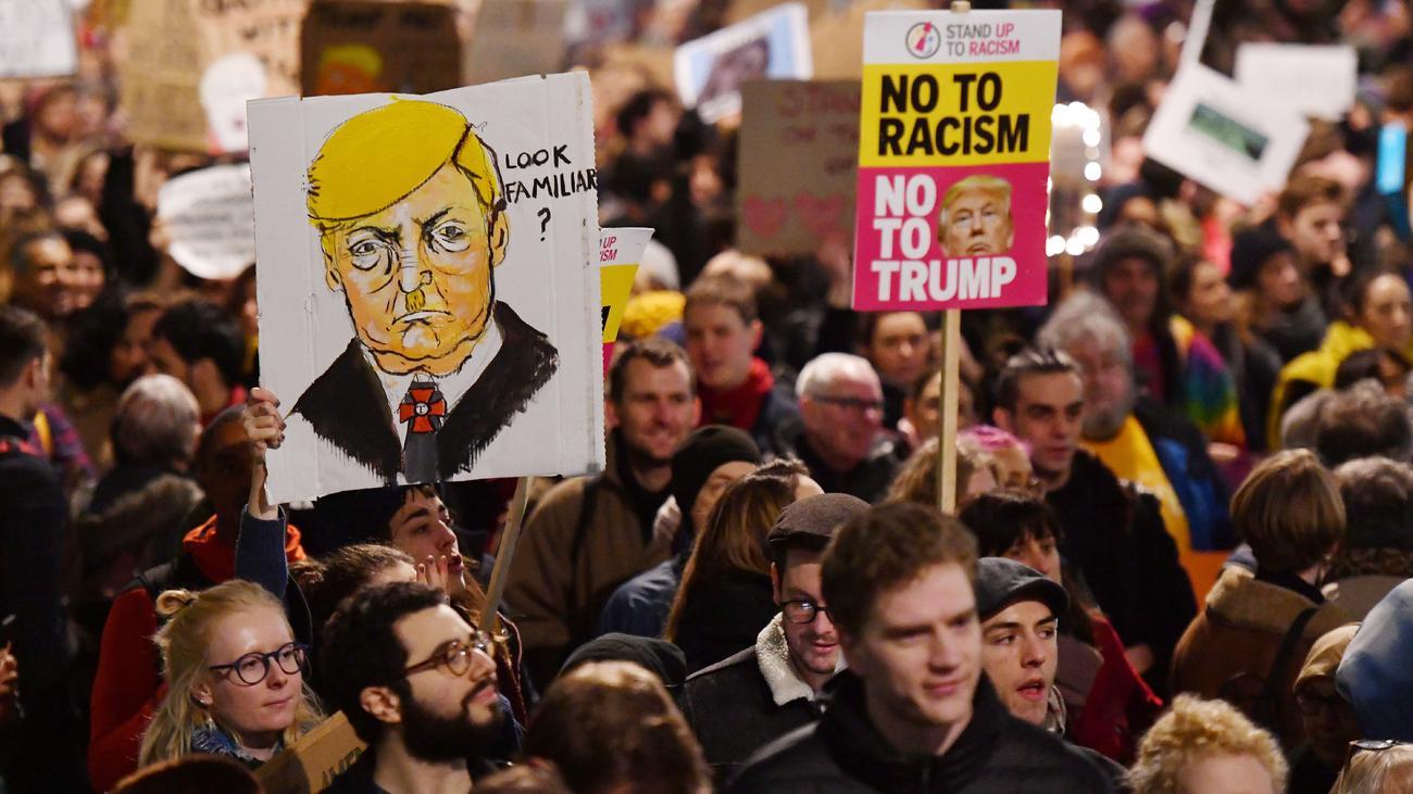 1,8 Mio gegen Staatsbesuch von Trump