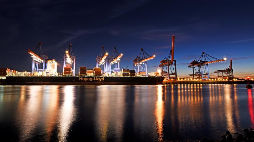 EU und Donald Trump: Hamburger Hafen