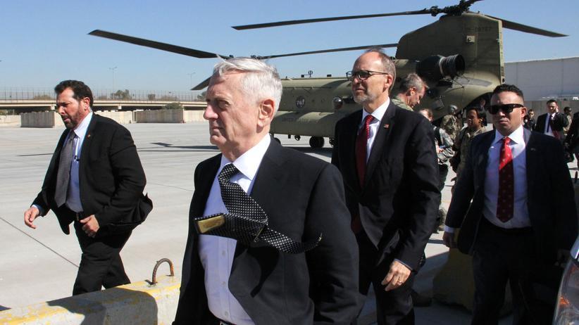 """James Mattis: """"Wir sind nicht im Irak, um das Öl anderer zu nehmen"""""""